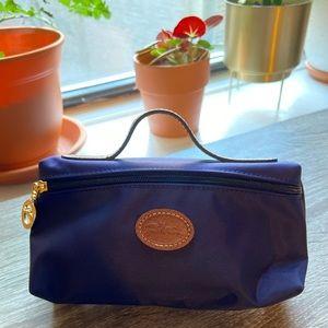 Longchamp Le Pliage Cosmetic bag, Dark Purple